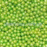 Жемчужные шарики  Зелёные ∅3