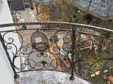 Кованый балкон. Ограждение балкона., фото 7