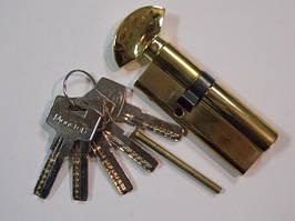 Цилиндр MANERA 80мм (Т30+50) повортник ключ (РВ)
