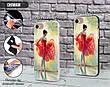 Силиконовый чехол для Sony Xperia M4 Aqua Dual (Балерина в красном), фото 2