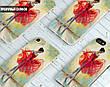 Силиконовый чехол для Sony Xperia M4 Aqua Dual (Балерина в красном), фото 6