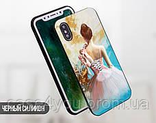 Силиконовый чехол для Apple Iphone 8 (Балерина и пуанты), фото 2