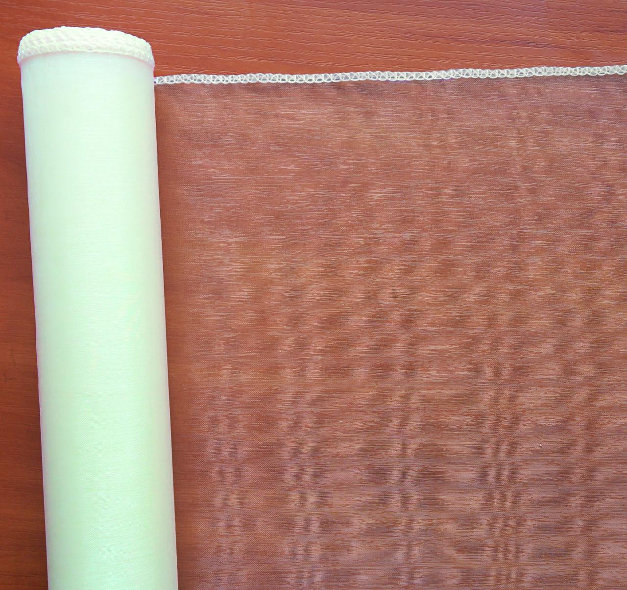 Органза молочная 39 см х  8 метров
