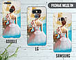 Силиконовый чехол для Samsung J330F Galaxy J3 (2017) (Балерина и пуанты), фото 5