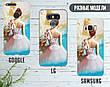 Силиконовый чехол для Samsung J500H Galaxy J5 (Балерина и пуанты), фото 5