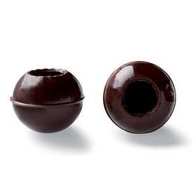 Корпус для трюфеля из черного шоколада 126 шт (CHD-TS-17312-999), Callebaut