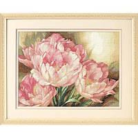 """Набор для вышивания крестом """"Трио тюльпанов//Tulip Trio"""" Gold Collection"""