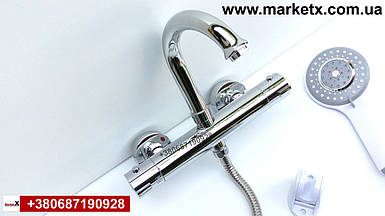 Латунный смеситель термостат для ванны и душа высокое качество