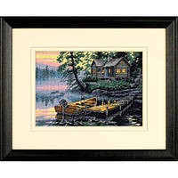"""Набор для вышивания крестом """"Утро на озере//Morning Lake"""" Gold Collection"""