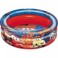 """Детский надувной бассейн для мальчиков """"Тачки"""" 130 см.  Детские бассейны для пляжа и дома опт и розница"""