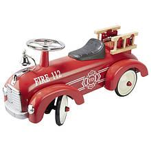 Толокар goki Пожарная машина красная, goki (14162G)