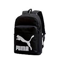 Рюкзак черный спортивный удобный модный школьный Puma Пума