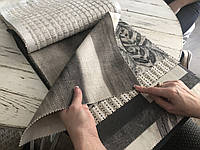 Ткань для штор лён