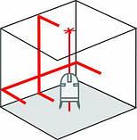 Лазерный уровень с отвесными точками SuperCross-Laser 2P Laserliner 081.125A, фото 10