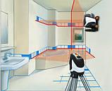 Лазерный уровень с отвесными точками SuperCross-Laser 2P Laserliner 081.125A, фото 4