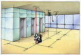 Лазерный уровень с отвесными точками SuperCross-Laser 2P Laserliner 081.125A, фото 7