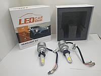 Светодиодные лед лампы (Авто-лампы  LED 6000K) H-3