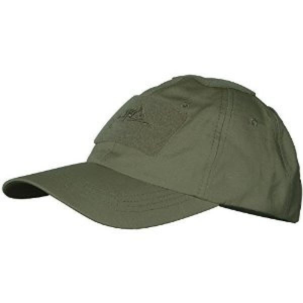 Бейсболка Helikon Tactical PoliCotton Ripstop Olive Green (CZ-BBC-PR-02)