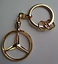 Оригинальный брелок Mercedes-Benz Key Chains Brussels, Gold-coloured (B66953741), фото 8