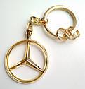 Оригинальный брелок Mercedes-Benz Key Chains Brussels, Gold-coloured (B66953741), фото 9