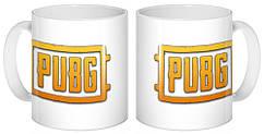 Кружка GeekLand PUBG  лого  02.02
