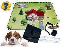 Электронный Забор и Ошейник. Виртуальный Барьер - Ограждение для Собак модель: W-027