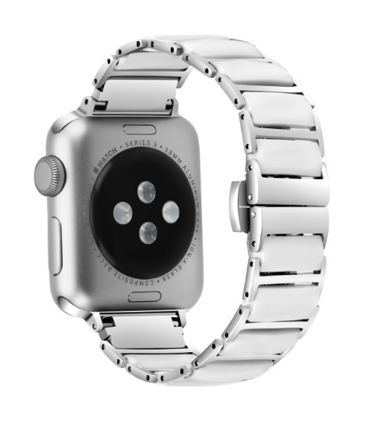 88495cf9 Браслет керамический Grand для Apple Watch 38/40 мм Silver - МАГАЗИН! ВСЕ  ДЛЯ