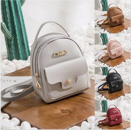 Стильный мини рюкзак для модных девушек, фото 2