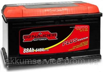 Аккумулятор автомобильный Sznajder Plus +Ca 88AH R+ 640А (58827)