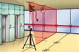 Автоматический лазер 2 с отвесными точками MasterCross-Laser 2P Laserliner 031.360А, фото 9