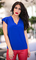 954e9e34858 Рубашка женская голубая PY -065