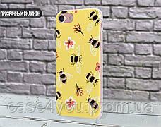 Силиконовый чехол для Apple Iphone 5c (Весенние пчелки), фото 3