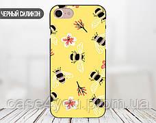 Силиконовый чехол для Huawei Honor 9 Lite (Весенние пчелки), фото 2
