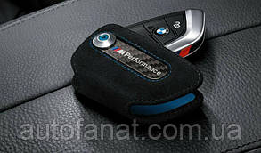 Футляр для ключей BMW M Performance 2, оригинал черный (82292355519)
