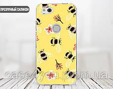 Силиконовый чехол для Huawei P10 (Весенние пчелки), фото 3