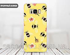 Силиконовый чехол для Huawei P10 Plus (Весенние пчелки), фото 2