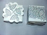 Элегантные белые бонбоньерки на свадьбу, крестины, выпускные, дни рождения