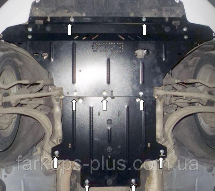 Захист двигуна - механіка Audi A4 (B8) (2007-2015) 2.0 D