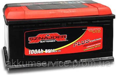Аккумулятор автомобильный Sznajder Plus +Ca 100AH R+ 850А (60095)
