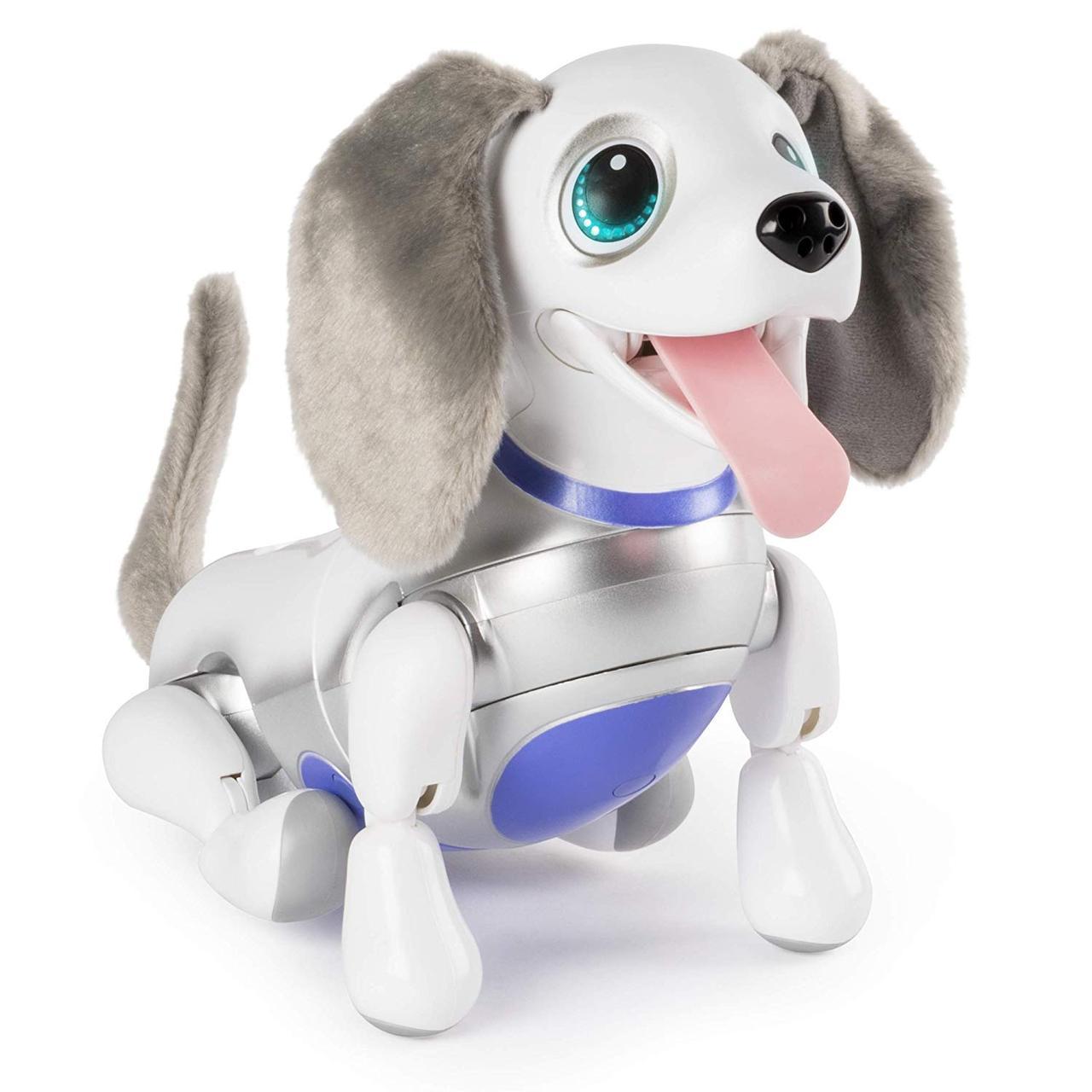 Интерактивный Роботизированный Щенок Оригинал Zoomer Playful Pup Responsive Robotic Dog