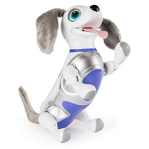 Интерактивный Роботизированный Щенок Оригинал Zoomer Playful Pup Responsive Robotic Dog, фото 2