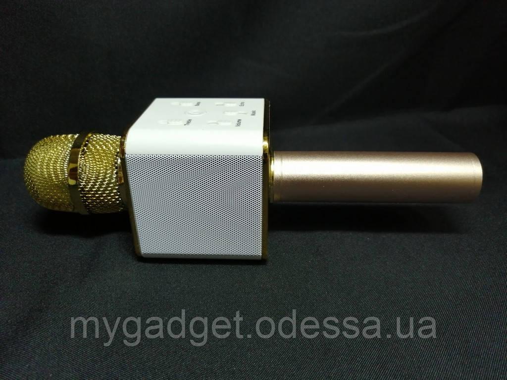 Беспроводной караоке микрофон Wireless Microphone&HIFI Speaker - Q7