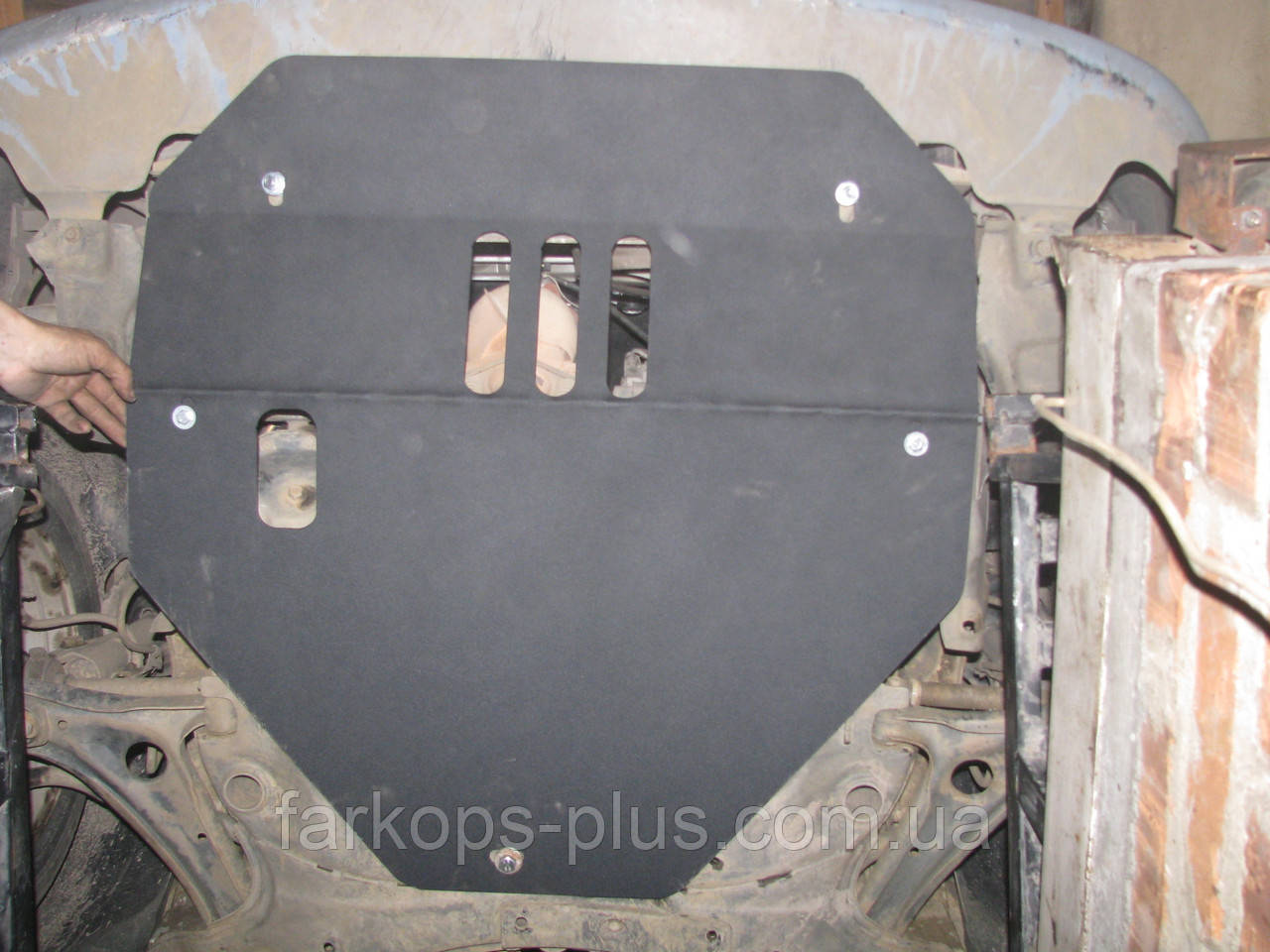 Защита двигателя и кпп - Geely MK-2 (2006--) 1.6