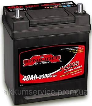 Акумулятор автомобільний Sznajder Plus Japan 40AH R+ 330А (54077)