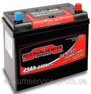 Аккумулятор автомобильный Sznajder Plus Japan 45AH L+ 340А (54524)