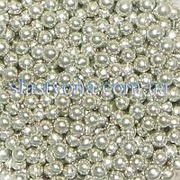 Жемчужные шарики Серебро ∅6
