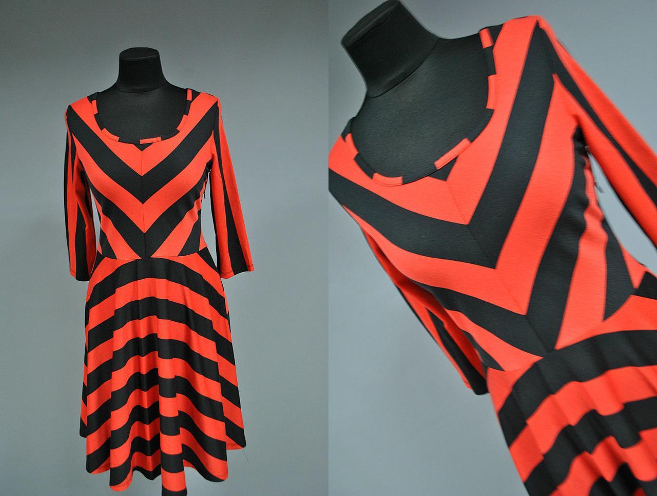 """Стильное женское платье ткань """"Французский трикотаж"""" 42, 44 размер норма"""