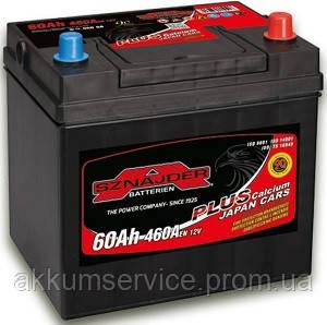 Аккумулятор автомобильный Sznajder Plus Japan 60AH R+ 460А (56068)