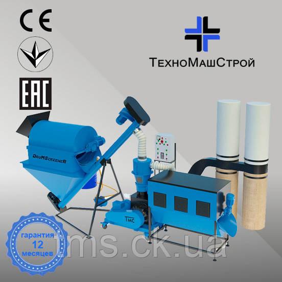 Оборудование для производства пеллет и комбикорма МЛГ-500 COMBI+ (производительность до 400 кг/час)
