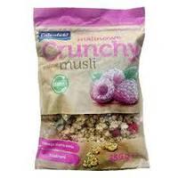Кранчи (хрустящие мюсли) Crunchy Crownfield с малиной 350 г
